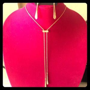 VC Necklace & Earrings set.
